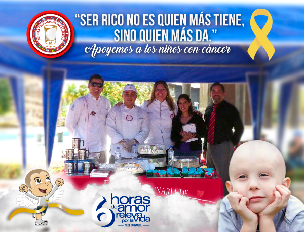 Evento a favor de los niños con cáncer del albergue Asonic.